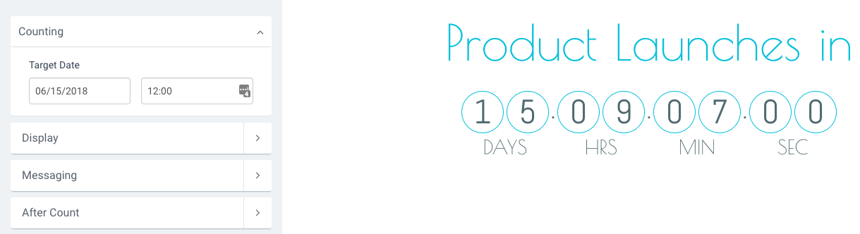 Intro to Countdown Timer – POWr
